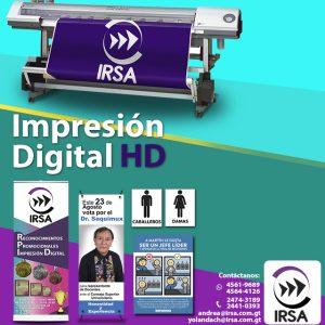 IMPRESIÓN DIGITAL HD